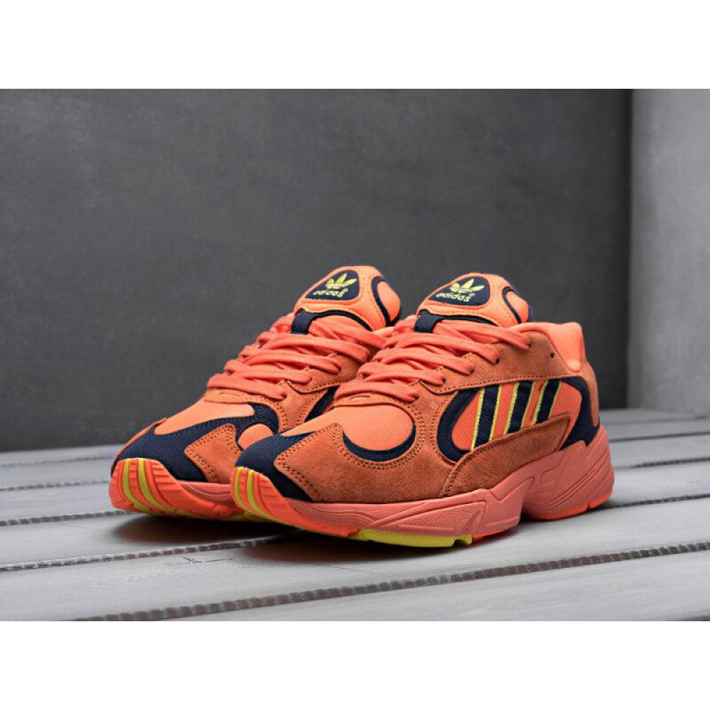 Демисезонные кроссовки мужские   - Мужские кроссовки Adidas Yung Orange 8