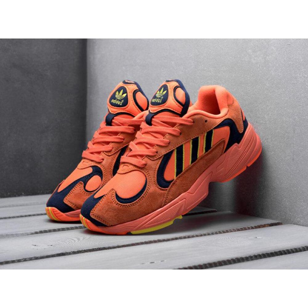 Демисезонные кроссовки мужские   - Мужские кроссовки Adidas Yung Orange