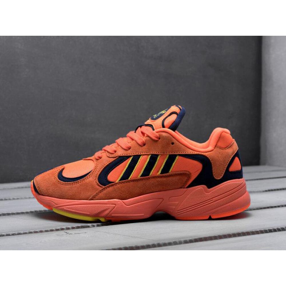 Демисезонные кроссовки мужские   - Мужские кроссовки Adidas Yung Orange 9