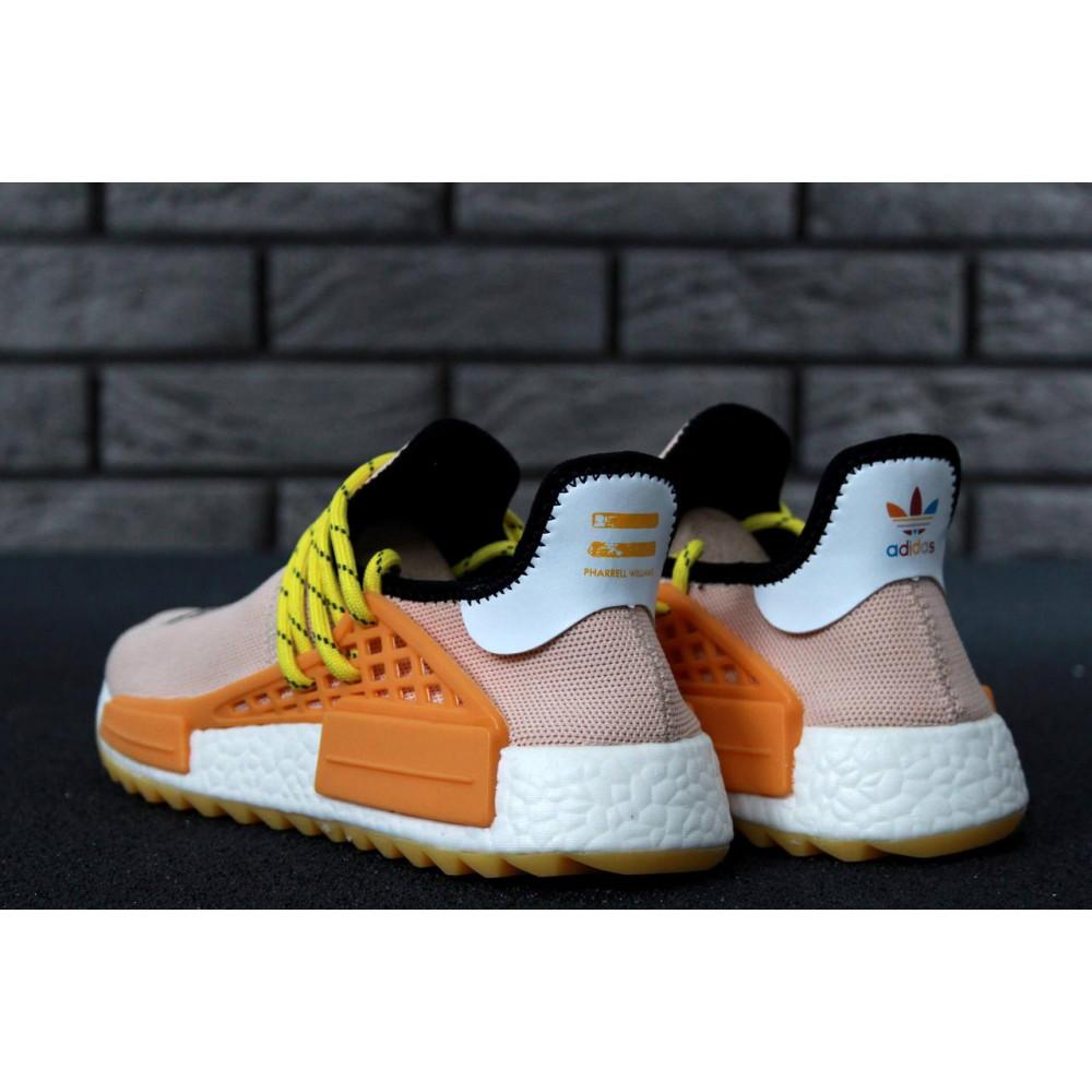 Беговые кроссовки мужские  - Кроссовки Adidas Nmd Human Race Men Lake Blue Orange 5