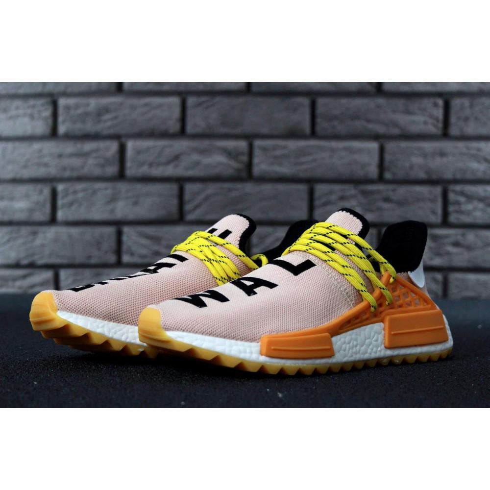 Беговые кроссовки мужские  - Кроссовки Adidas Nmd Human Race Men Lake Blue Orange 1