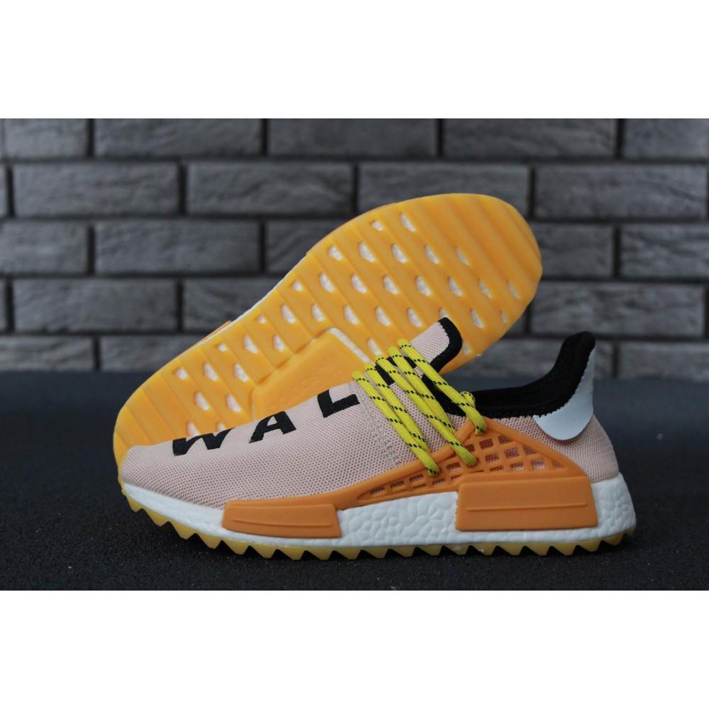 Беговые кроссовки мужские  - Кроссовки Adidas Nmd Human Race Men Lake Blue Orange 7