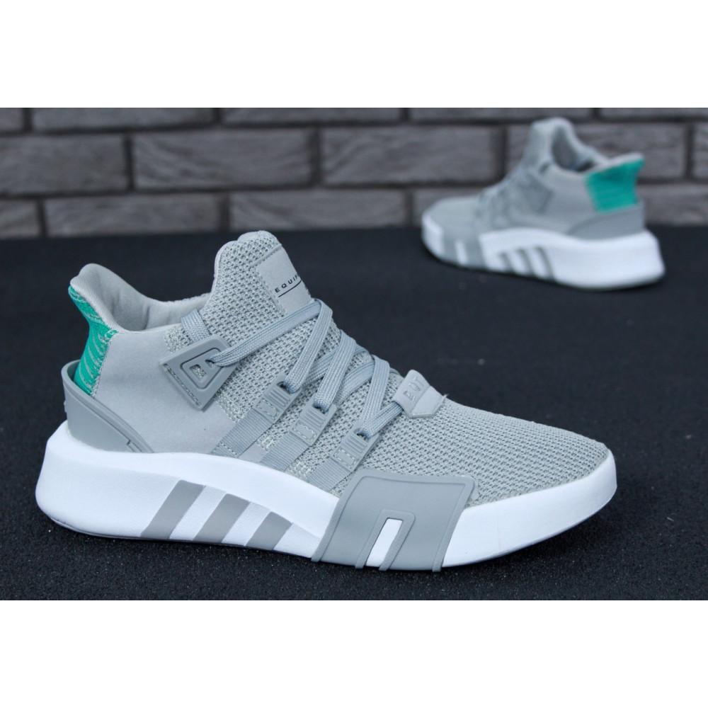 Классические кроссовки мужские - Кроссовки Adidas EQT ADV High Grey 4