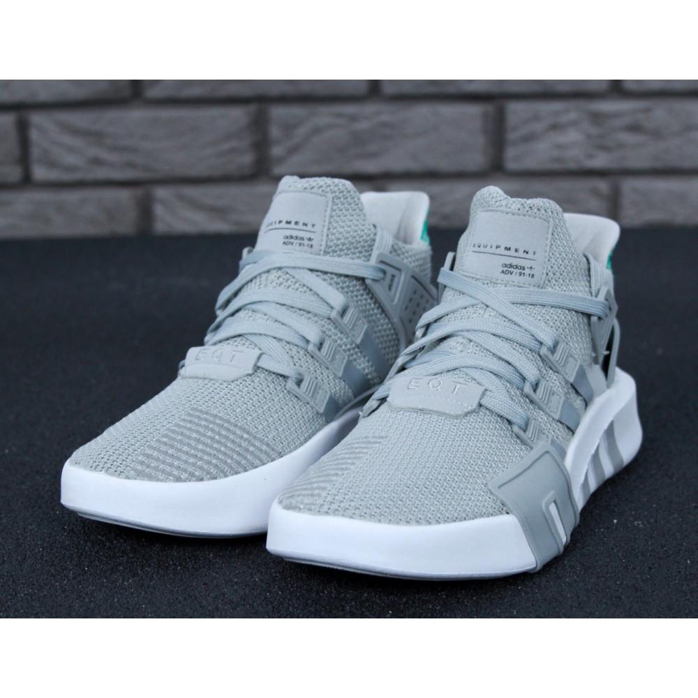 Классические кроссовки мужские - Кроссовки Adidas EQT ADV High Grey 3