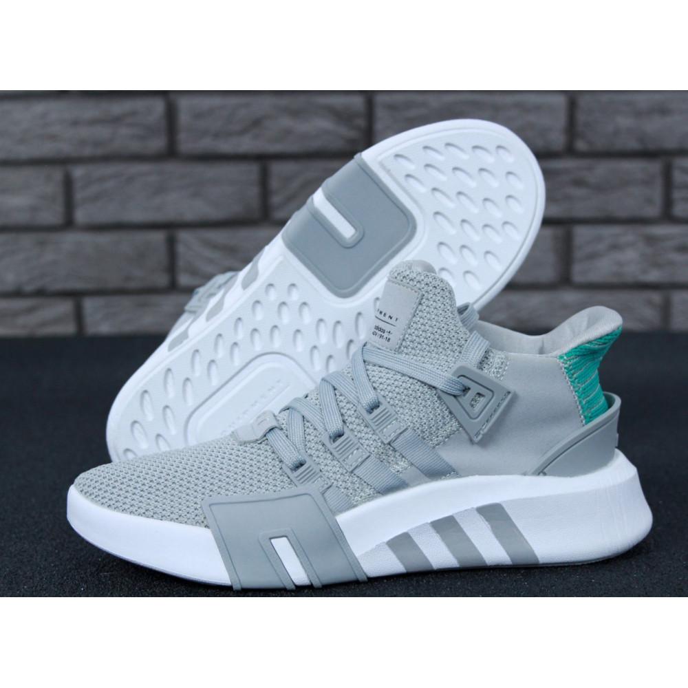 Классические кроссовки мужские - Кроссовки Adidas EQT ADV High Grey 2