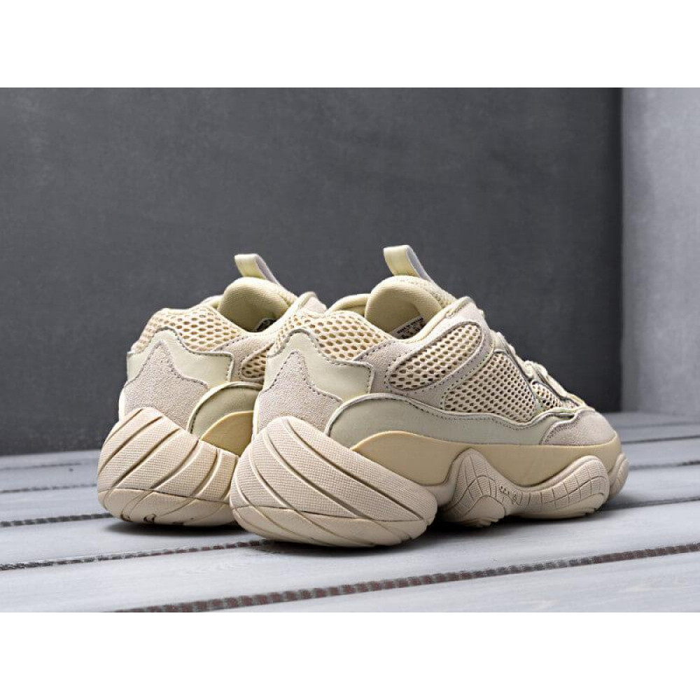 Демисезонные кроссовки мужские   - Кроссовки Adidas Yeezy 500 Super Moon Yellow 1