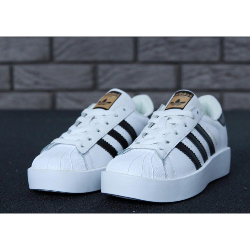 Женские кроссовки классические  - Кроссовки Adidas Superstar Bold 3