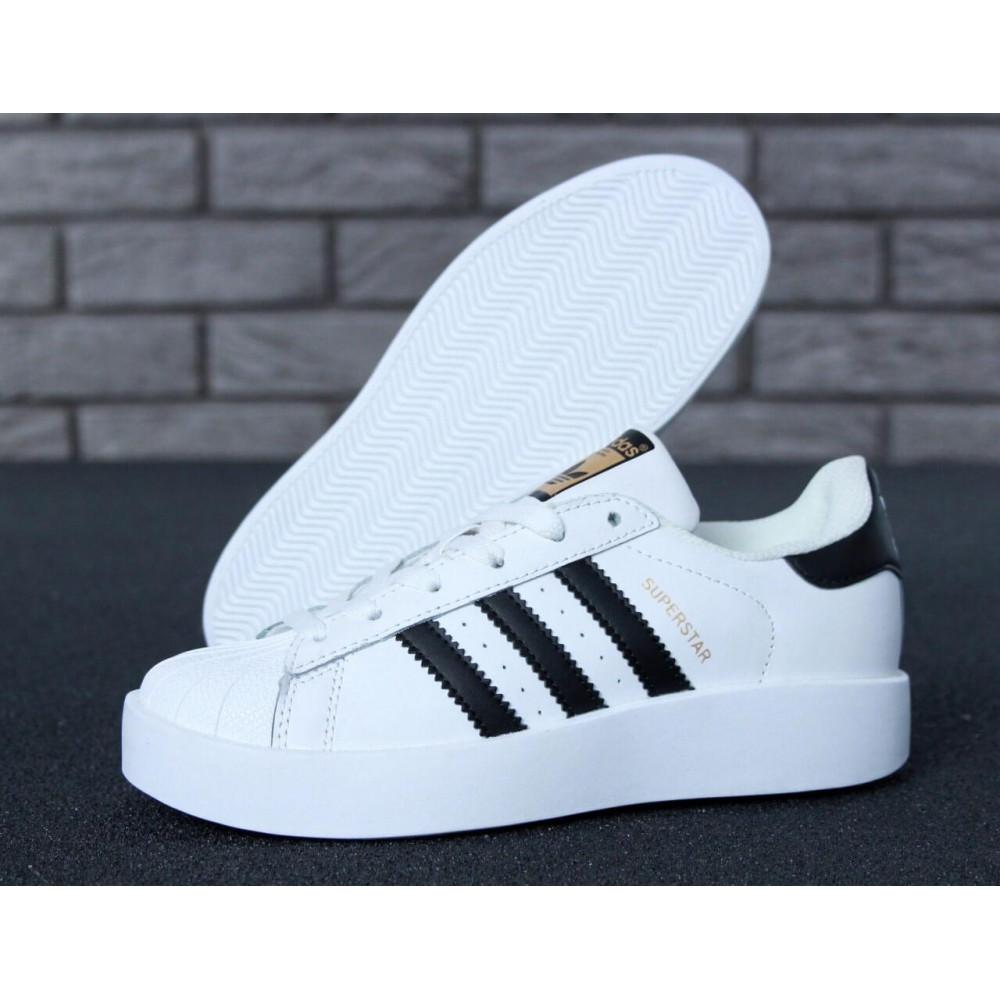 Женские кроссовки классические  - Кроссовки Adidas Superstar Bold 1