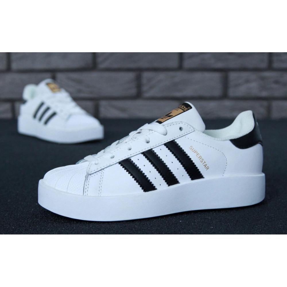 Женские кроссовки классические  - Кроссовки Adidas Superstar Bold 7