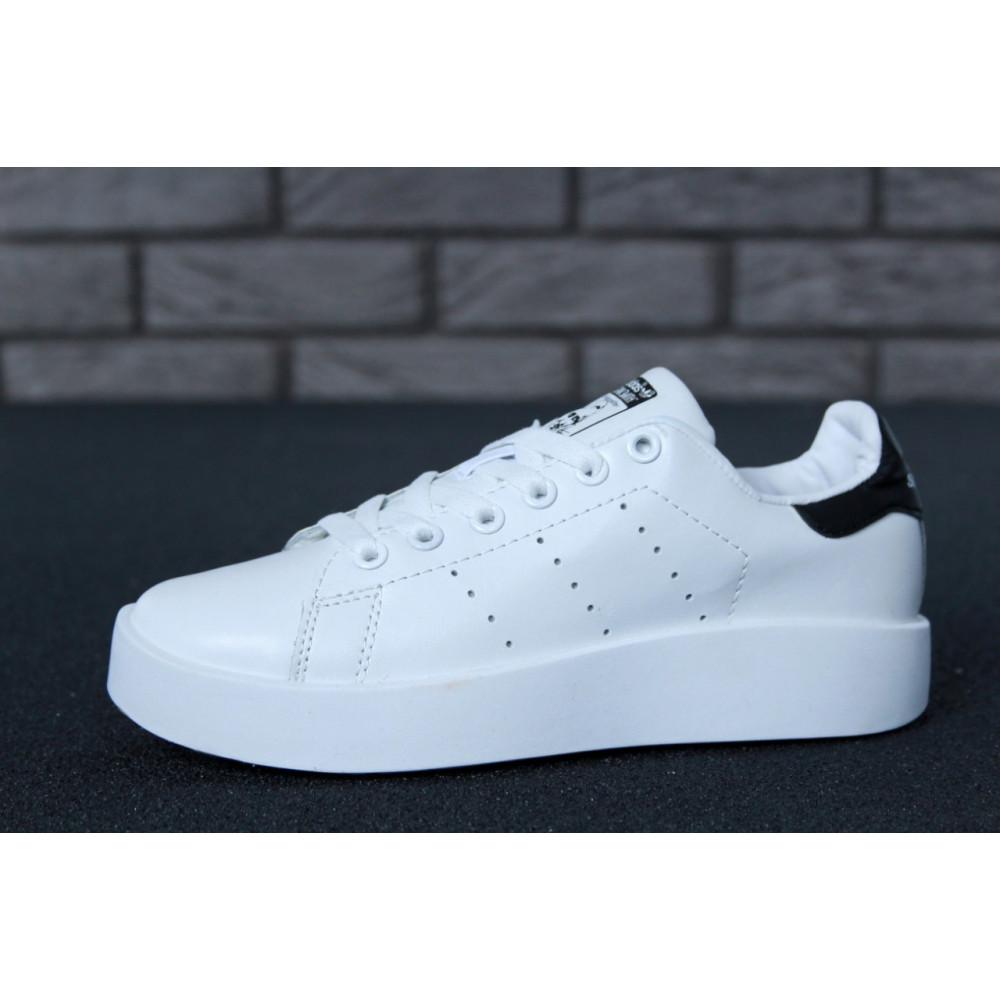 Женские кроссовки классические  - Кроссовки Adidas Stan Smith Bold 1