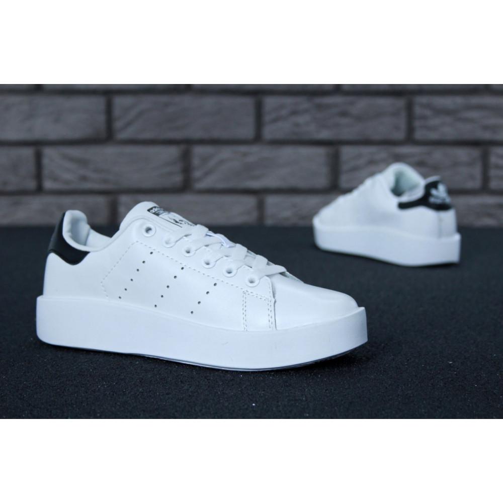 Женские кроссовки классические  - Кроссовки Adidas Stan Smith Bold 8