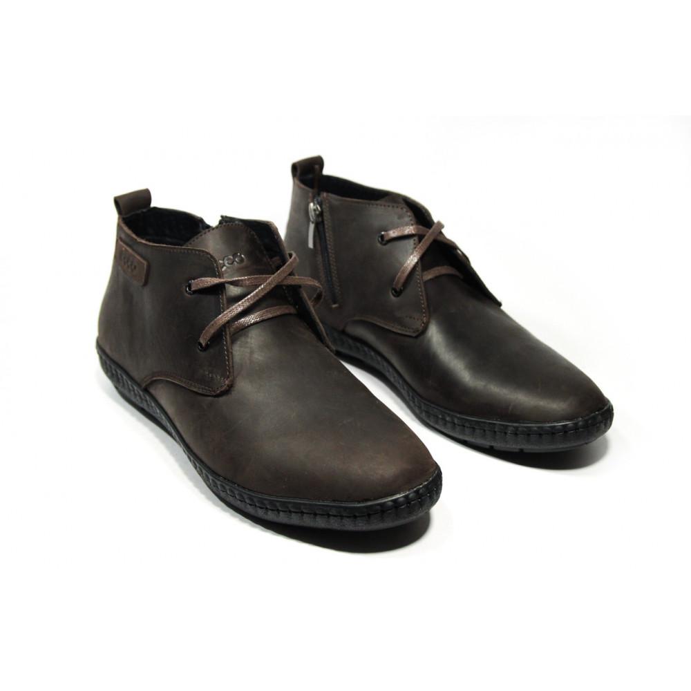 Мужские ботинки зимние - Ботинки мужские ECCO  13038 ⏩ [43 ]