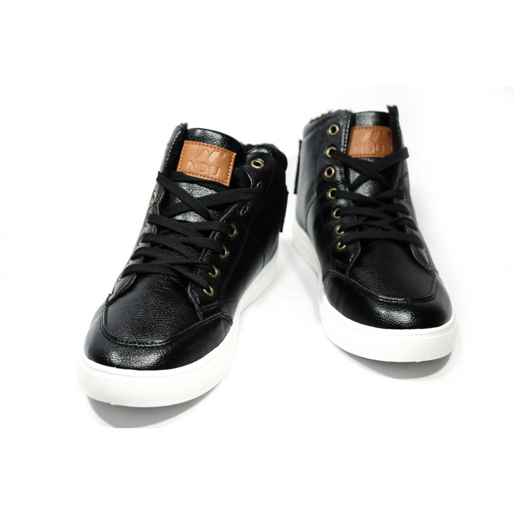 Мужские ботинки зимние - Зимние ботинки (на меху) мужские Vintage (реплика) .[44] 18-107 4