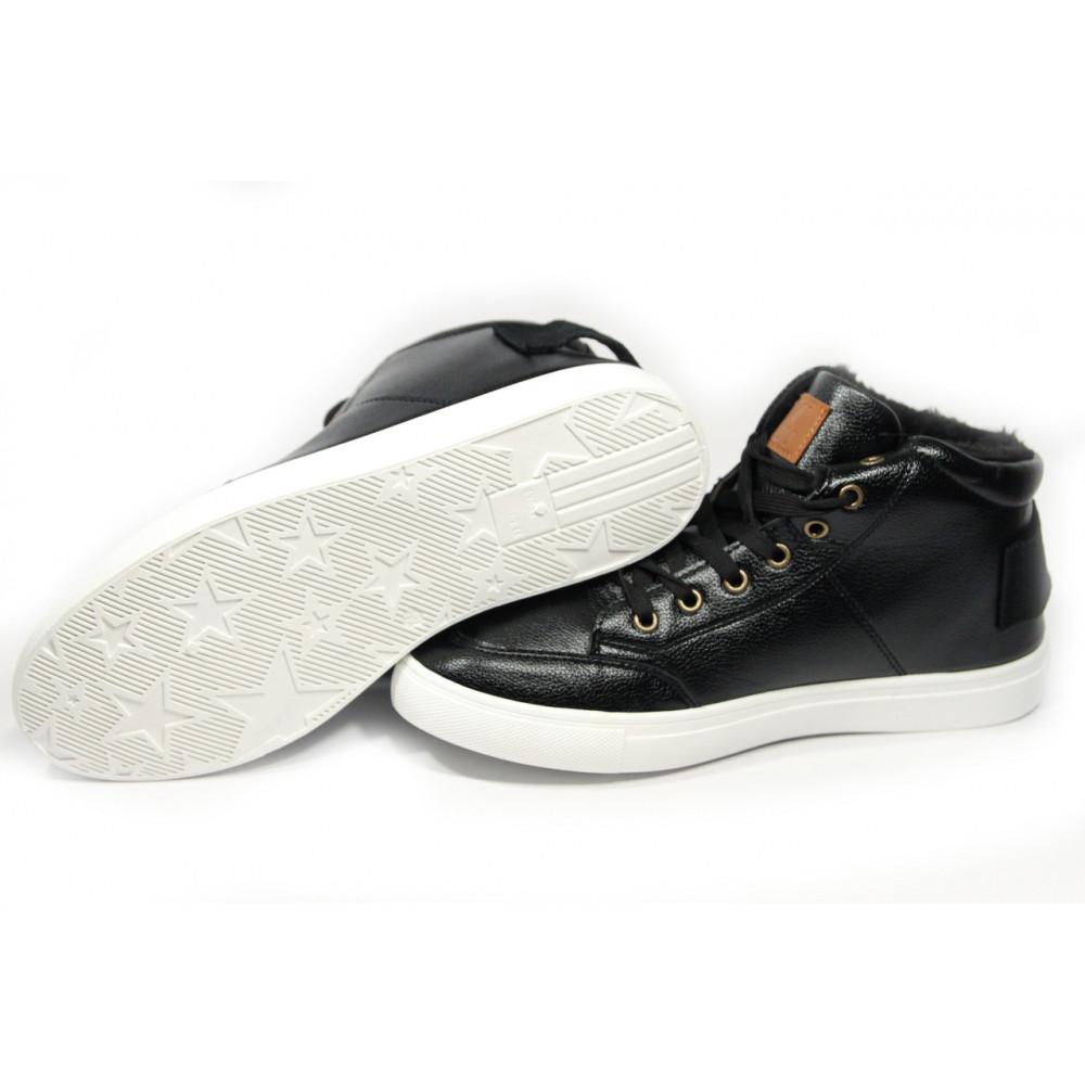 Мужские ботинки зимние - Зимние ботинки (на меху) мужские Vintage (реплика) .[44] 18-107 1