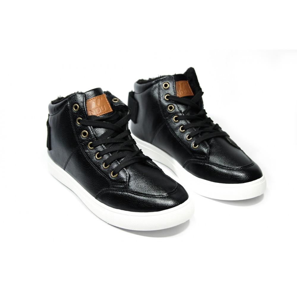 Мужские ботинки зимние - Зимние ботинки (на меху) мужские Vintage (реплика) .[44] 18-107