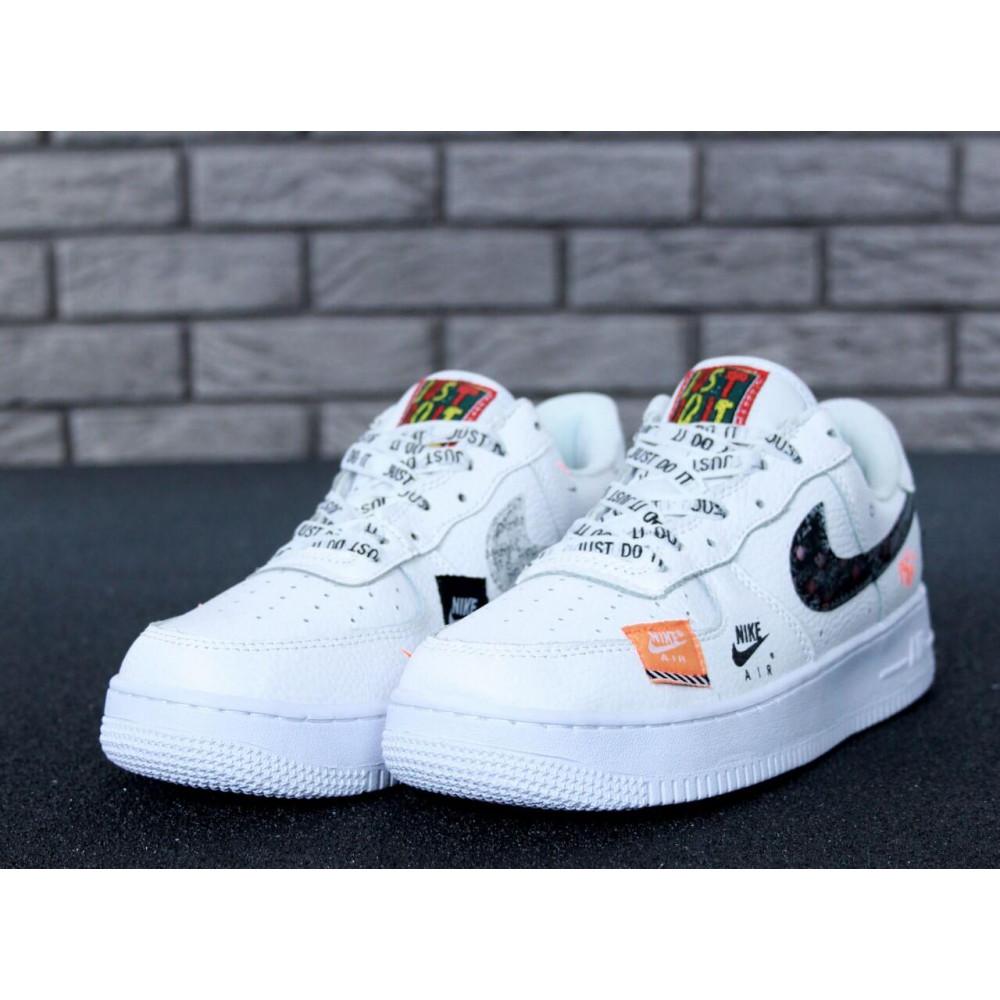 Летние кроссовки мужские - Мужские кроссовки Nike Air Force 1 Low Just Do It Pack White 1