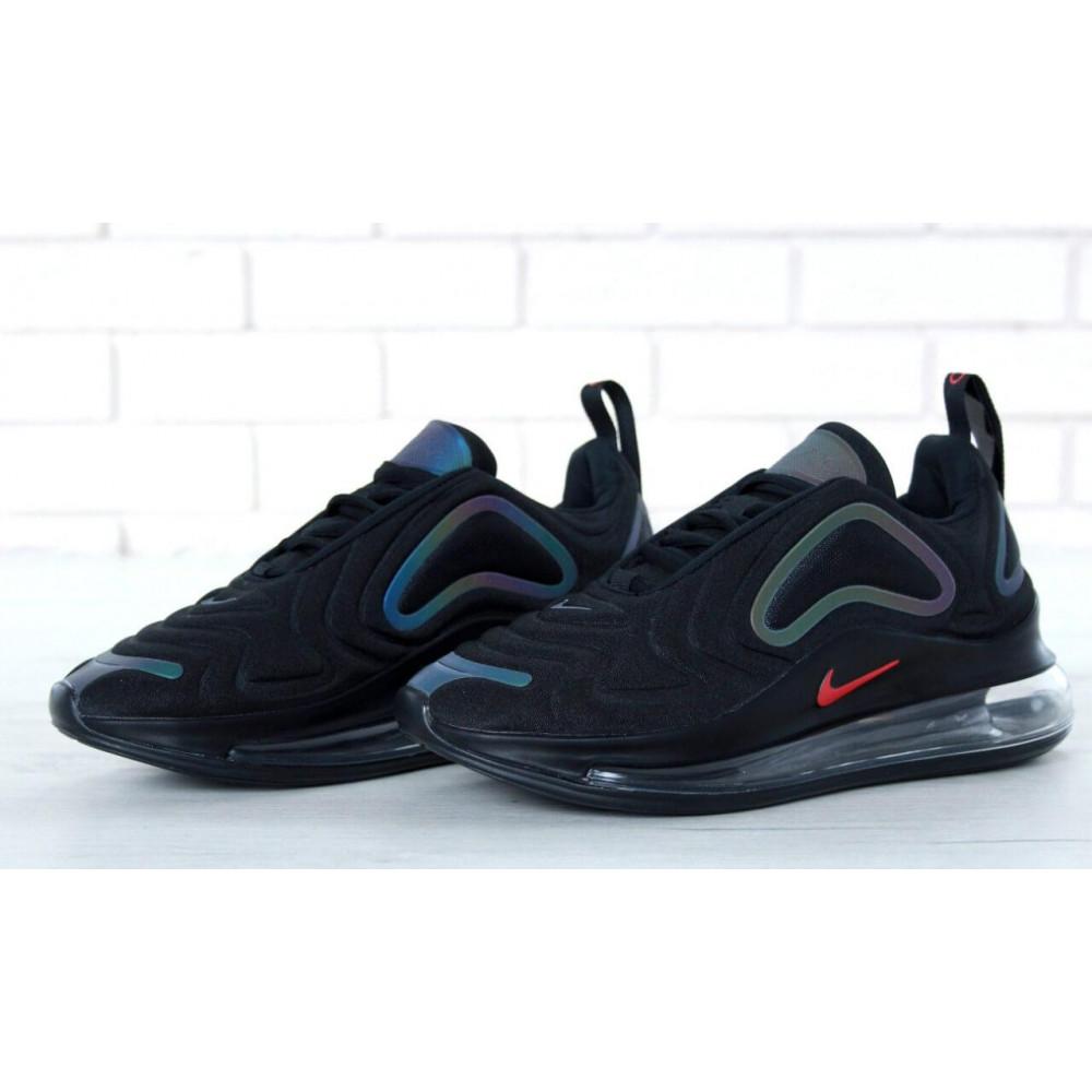Демисезонные кроссовки мужские   - Черные мужские кроссовки Nike Air Max 720 6