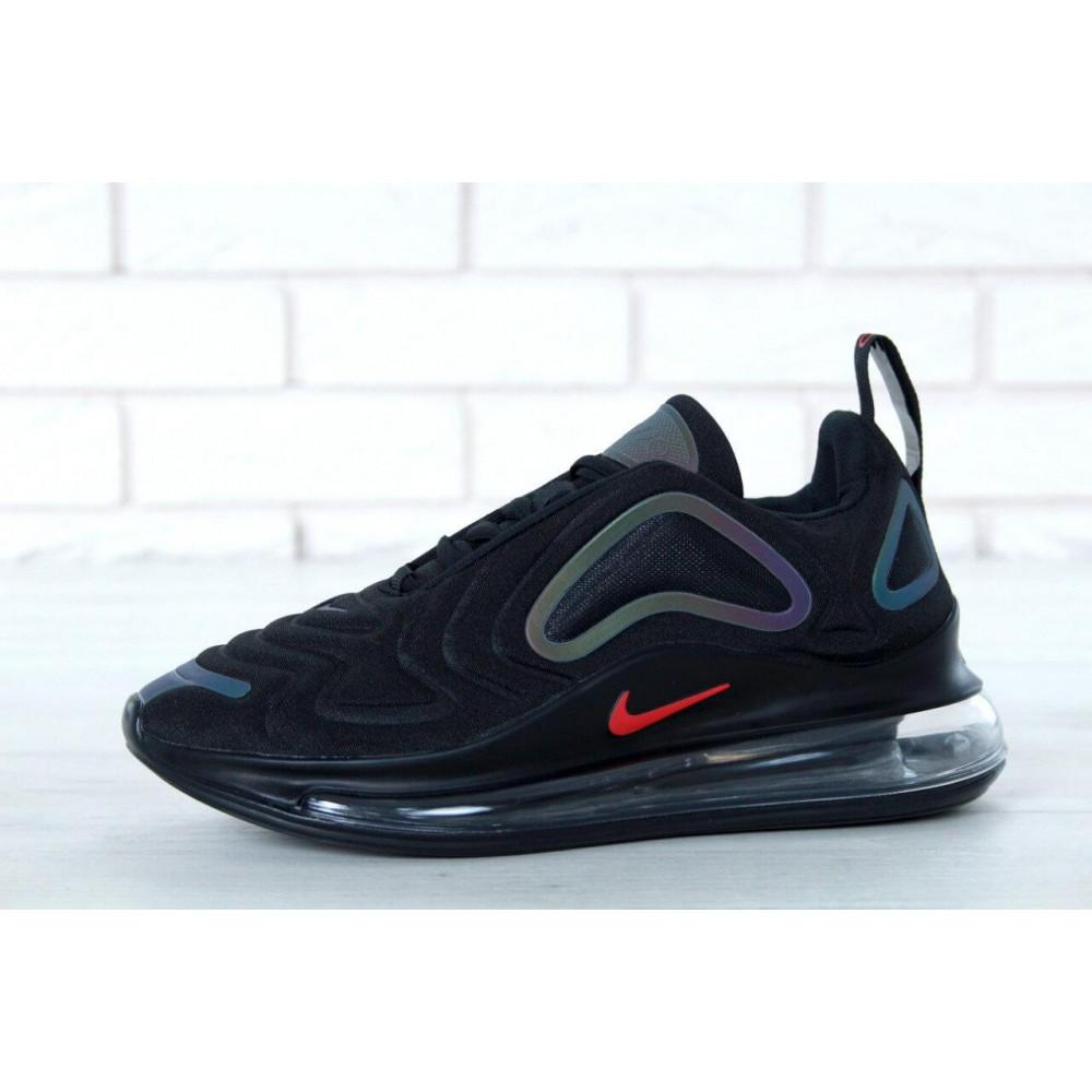 Демисезонные кроссовки мужские   - Черные мужские кроссовки Nike Air Max 720 9