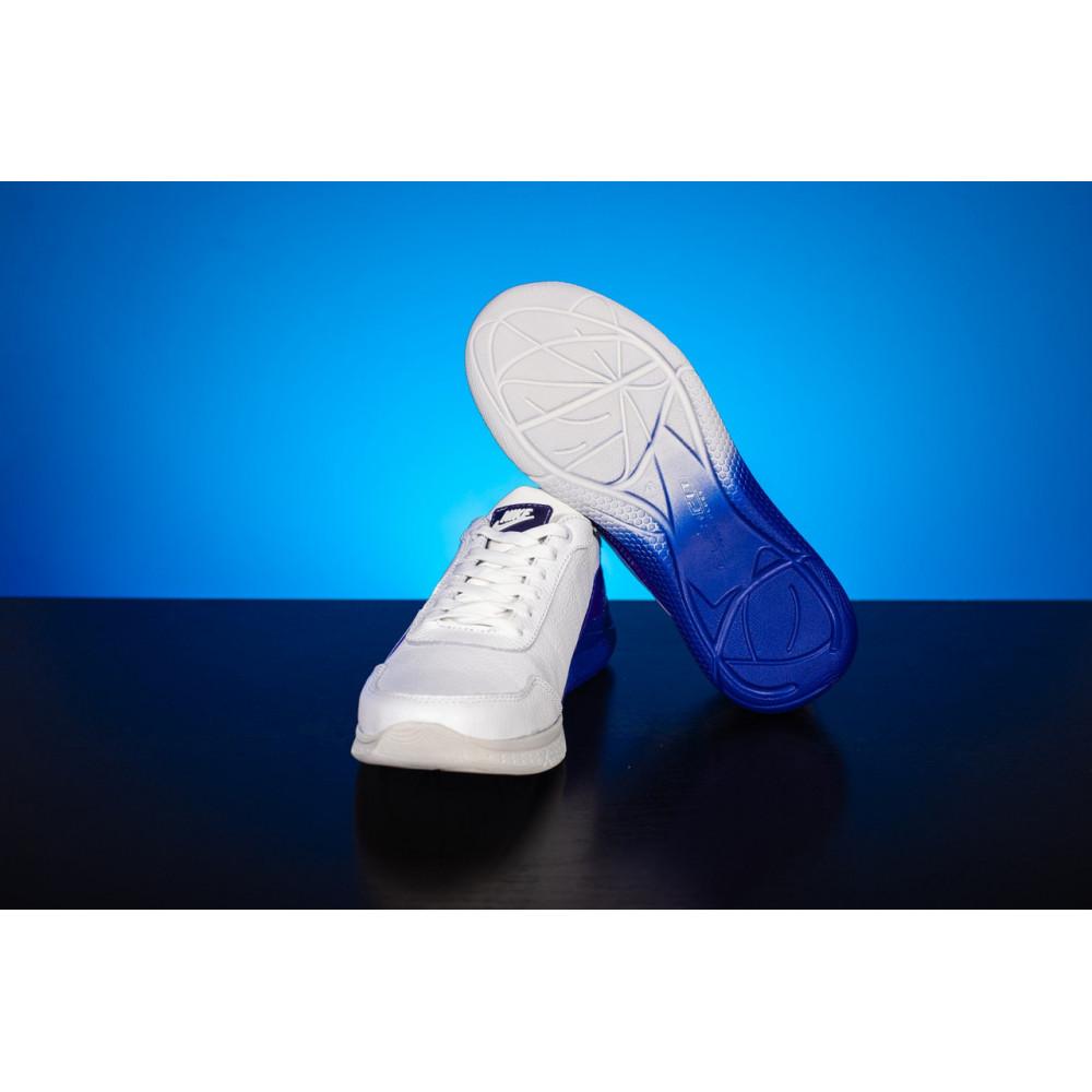 Кожаные кроссовки мужские - Мужские кроссовки кожаные весна/осень белые CrosSAV 22 1