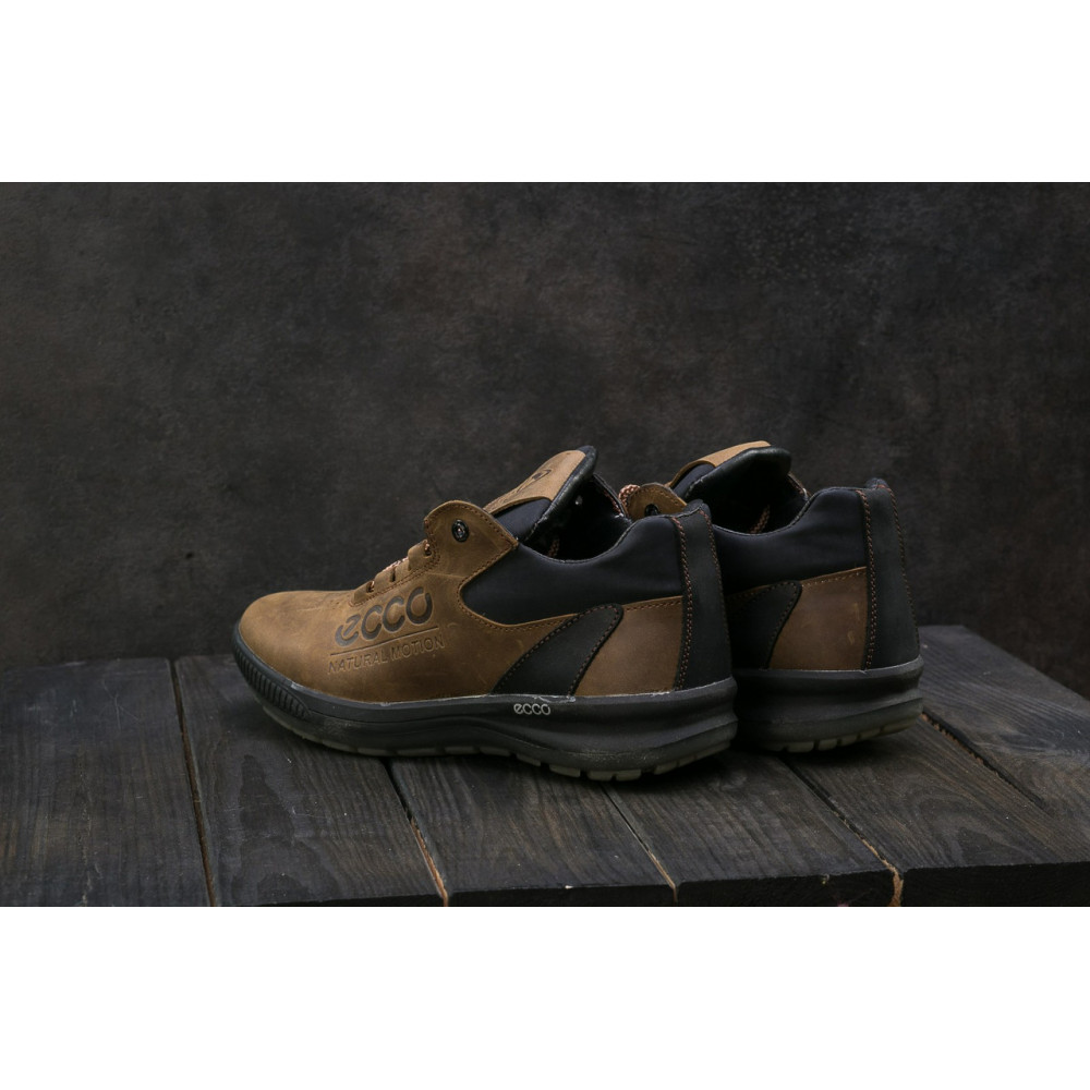 Зимние кроссовки мужские - Мужские кроссовки кожаные зимние черные CrosSAV 38 7