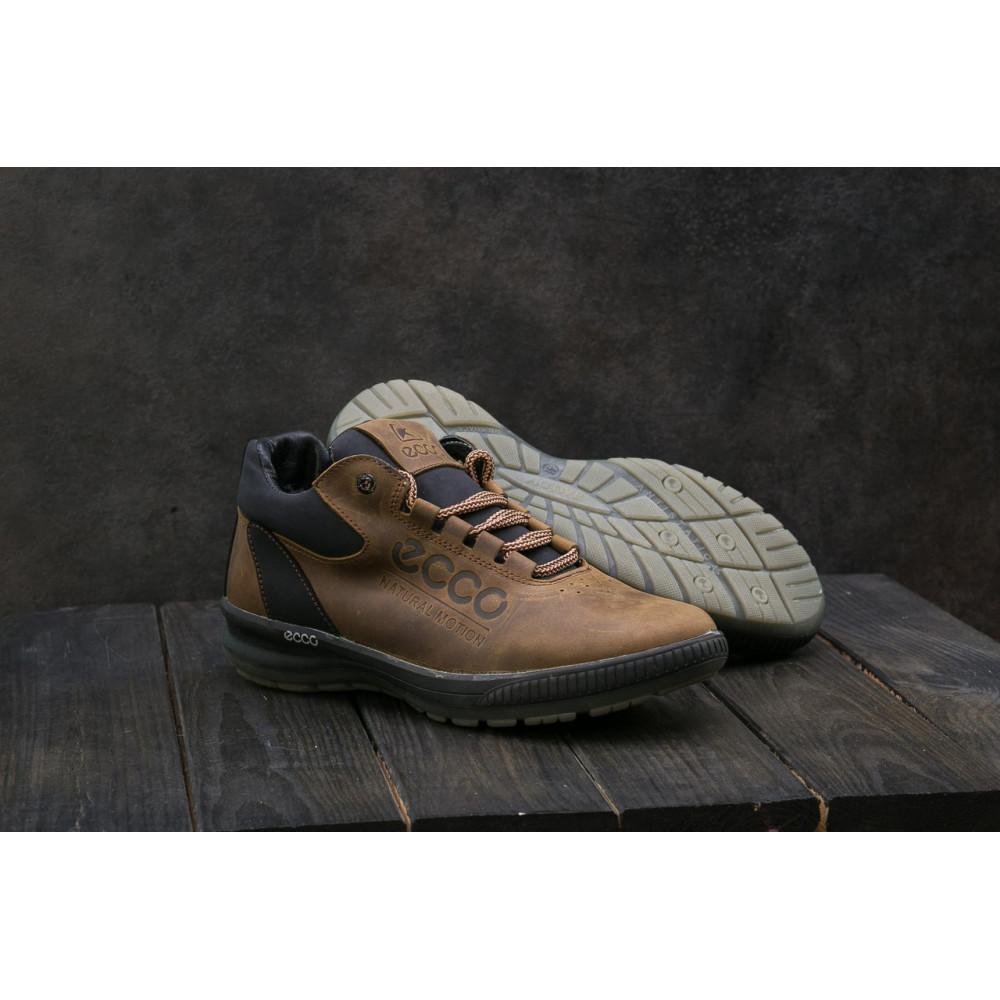 Зимние кроссовки мужские - Мужские кроссовки кожаные зимние черные CrosSAV 38 6