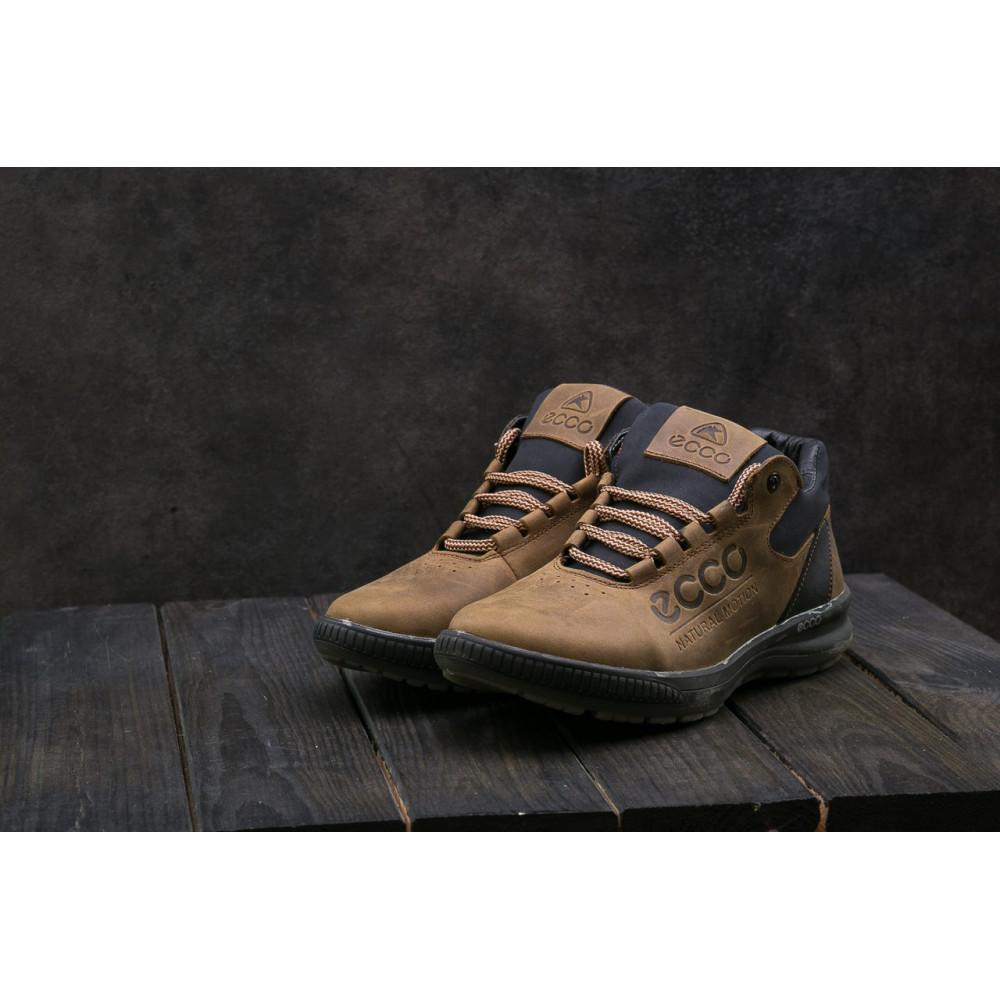 Зимние кроссовки мужские - Мужские кроссовки кожаные зимние черные CrosSAV 38 9