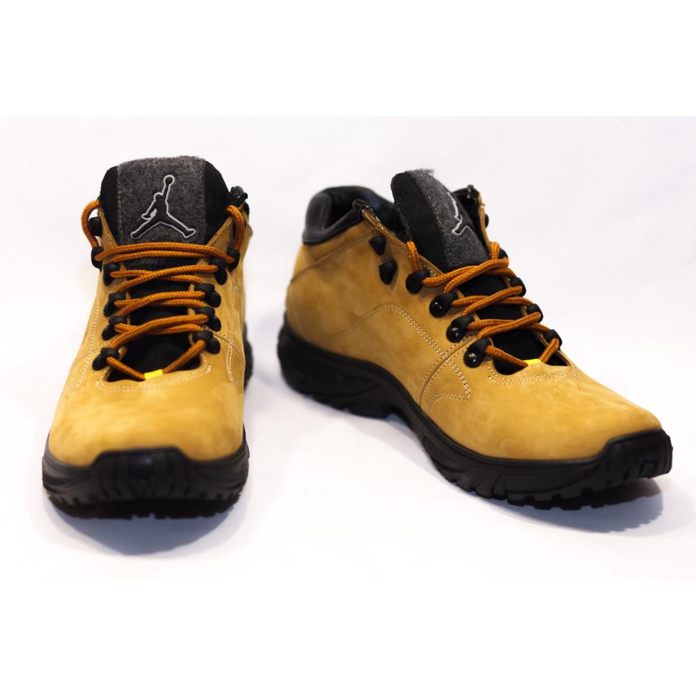 Мужские ботинки зимние - Зимние ботинки (НА МЕХУ) мужские Jordan  13058 ⏩ [41,42,43 ]
