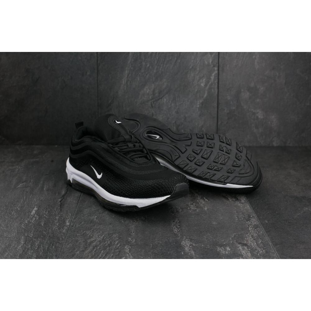 Демисезонные кроссовки мужские   - Мужские кроссовки текстильные весна/осень черные Ditof A 345 -1 4