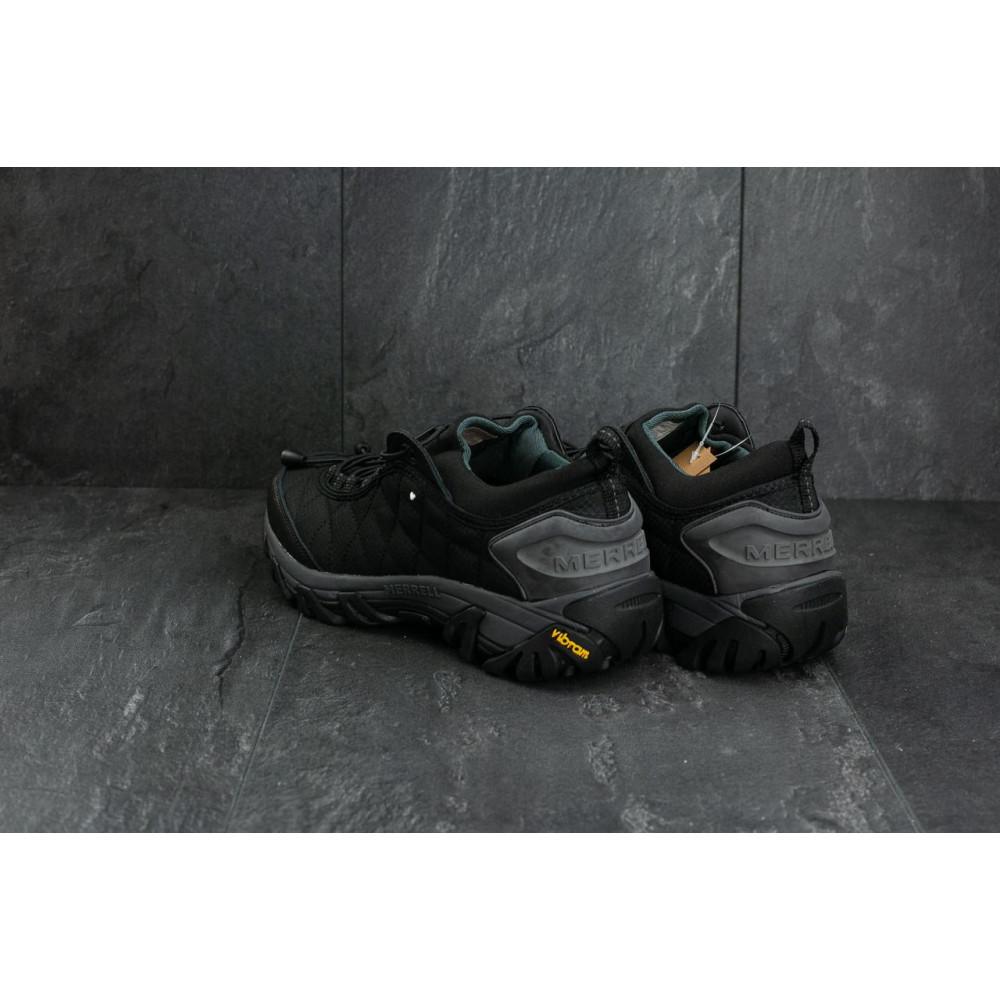 Демисезонные кроссовки мужские   - Мужские кроссовки текстильные весна/осень черные Ditof A 741 -3 3