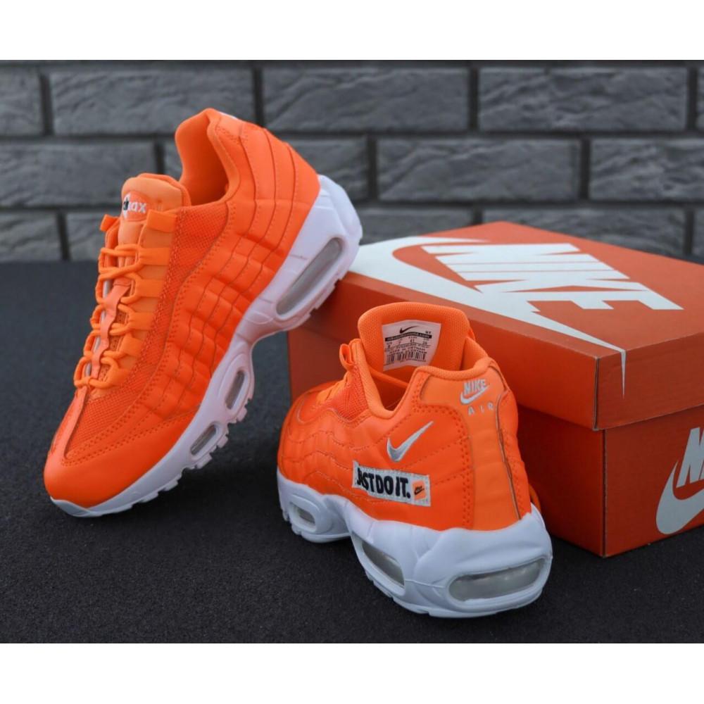 Мужские кроссовки Vibram - Мужские кроссовки Nike Air Max 95 Just Do It оранжевого цвета 2