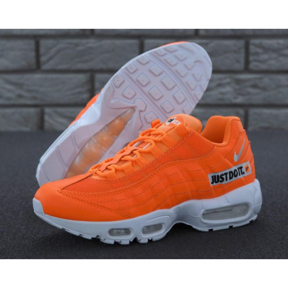Мужские кроссовки Vibram - Мужские кроссовки Nike Air Max 95 Just Do It оранжевого цвета 3