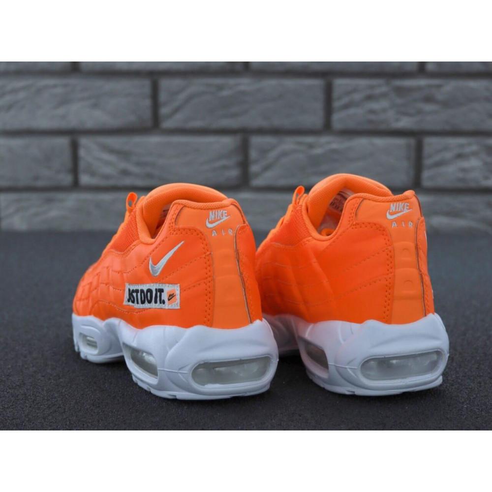 Мужские кроссовки Vibram - Мужские кроссовки Nike Air Max 95 Just Do It оранжевого цвета 4