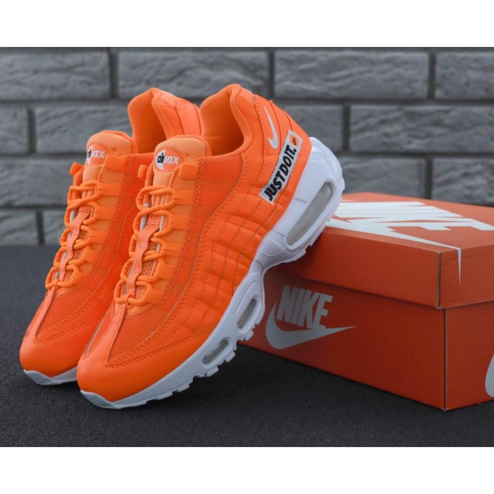Мужские кроссовки Vibram - Мужские кроссовки Nike Air Max 95 Just Do It оранжевого цвета