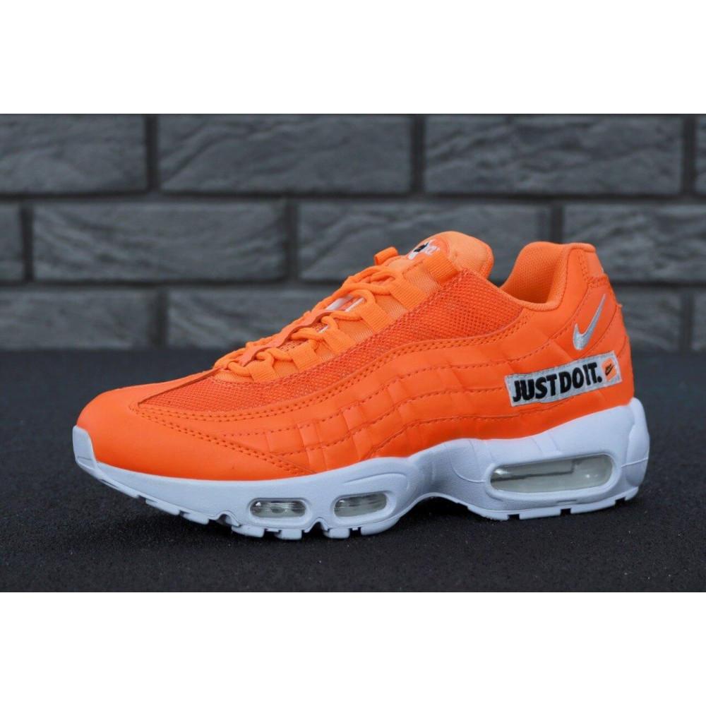 Мужские кроссовки Vibram - Мужские кроссовки Nike Air Max 95 Just Do It оранжевого цвета 6