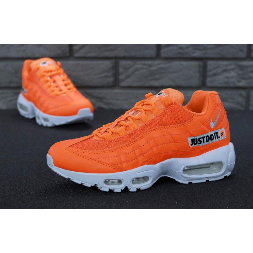 Мужские кроссовки Vibram - Мужские кроссовки Nike Air Max 95 Just Do It оранжевого цвета 5