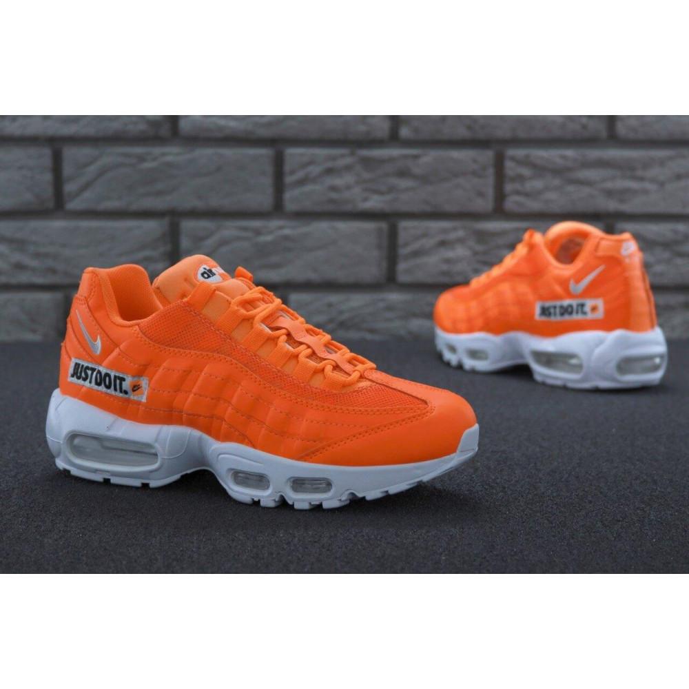 Мужские кроссовки Vibram - Мужские кроссовки Nike Air Max 95 Just Do It оранжевого цвета 7
