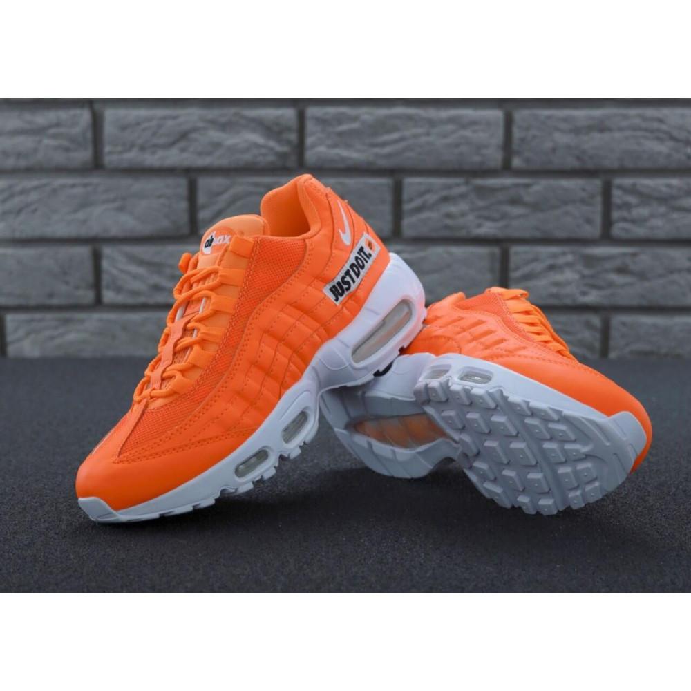Мужские кроссовки Vibram - Мужские кроссовки Nike Air Max 95 Just Do It оранжевого цвета 8