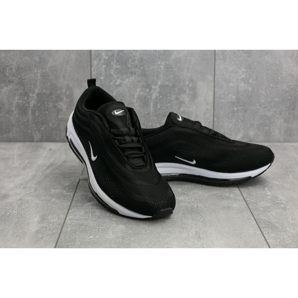 Демисезонные кроссовки мужские   - Мужские кроссовки текстильные весна/осень черные Ditof A 345 -1