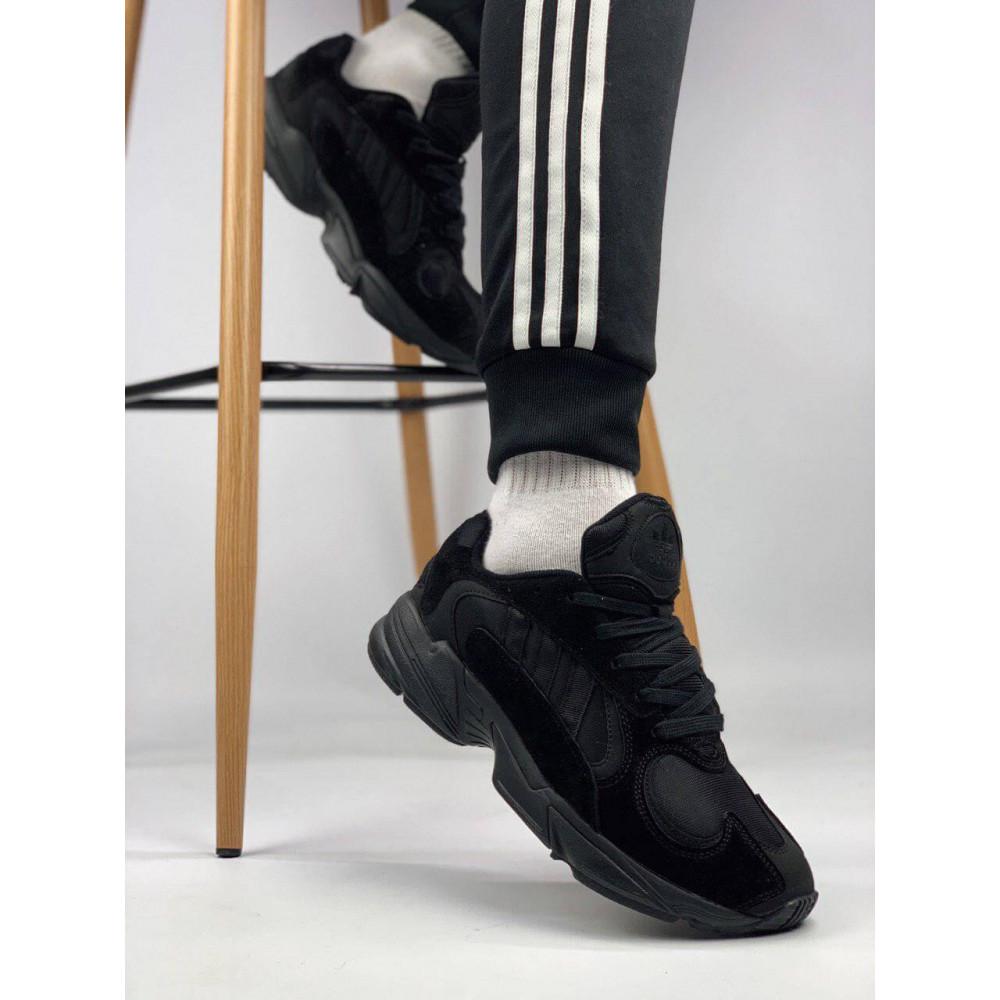 Демисезонные кроссовки мужские   - Мужские черные кроссовки Adidas Yeezy Yung-1 5