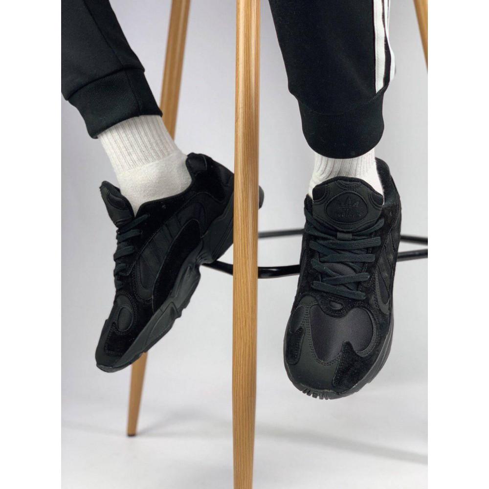 Демисезонные кроссовки мужские   - Мужские черные кроссовки Adidas Yeezy Yung-1 1