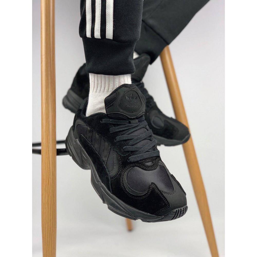 Демисезонные кроссовки мужские   - Мужские черные кроссовки Adidas Yeezy Yung-1
