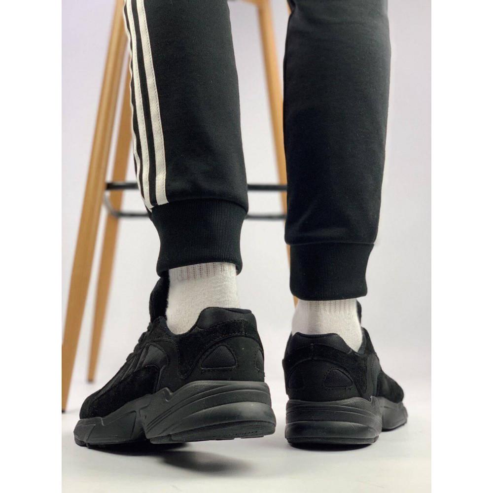 Демисезонные кроссовки мужские   - Мужские черные кроссовки Adidas Yeezy Yung-1 2