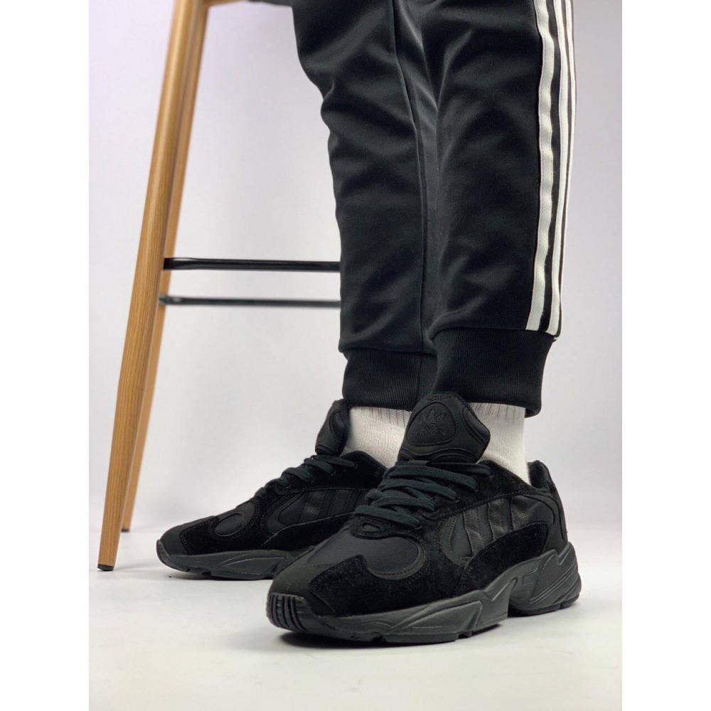 Демисезонные кроссовки мужские   - Мужские черные кроссовки Adidas Yeezy Yung-1 3
