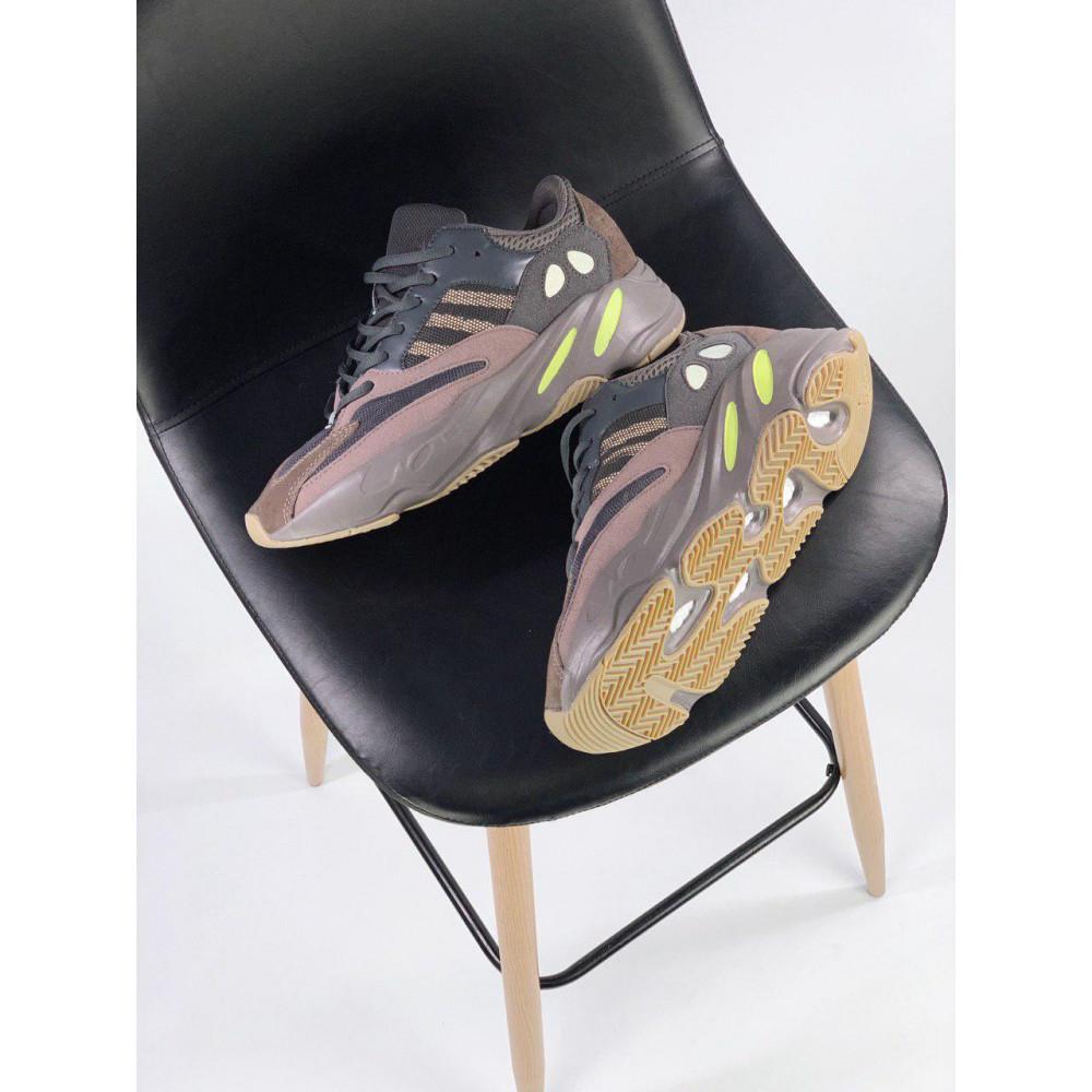 Демисезонные кроссовки мужские   - Мужские серые кроссовки Adidas Yeezy 700 Mauve 1
