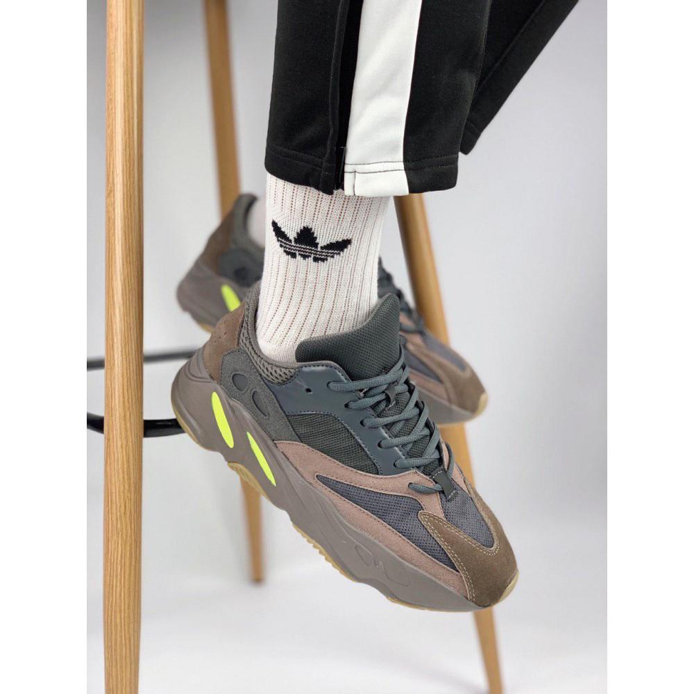 Демисезонные кроссовки мужские   - Мужские серые кроссовки Adidas Yeezy 700 Mauve 2