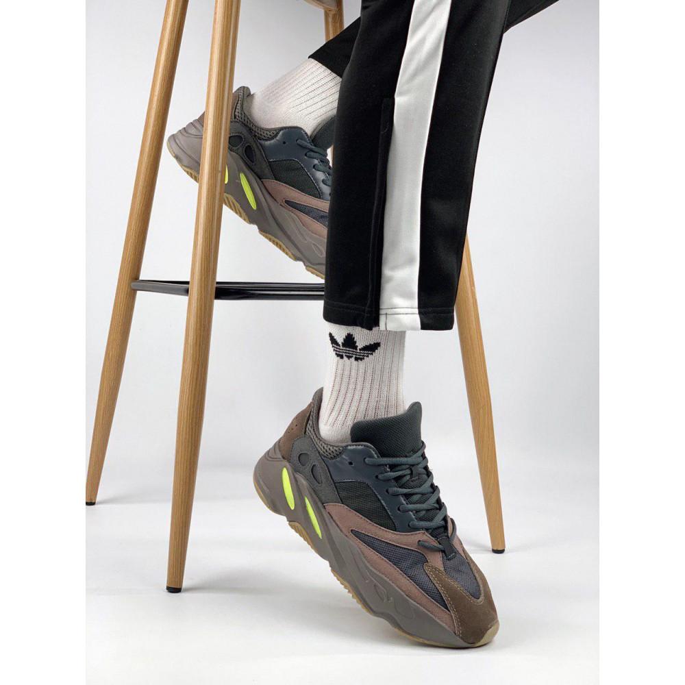 Демисезонные кроссовки мужские   - Мужские серые кроссовки Adidas Yeezy 700 Mauve 3