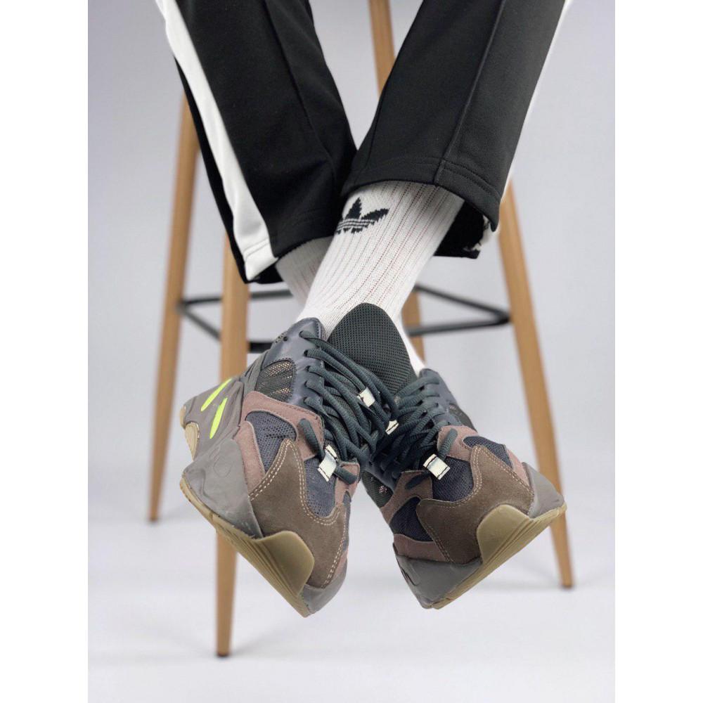Демисезонные кроссовки мужские   - Мужские серые кроссовки Adidas Yeezy 700 Mauve 8