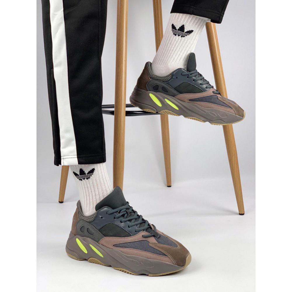 Демисезонные кроссовки мужские   - Мужские серые кроссовки Adidas Yeezy 700 Mauve 5