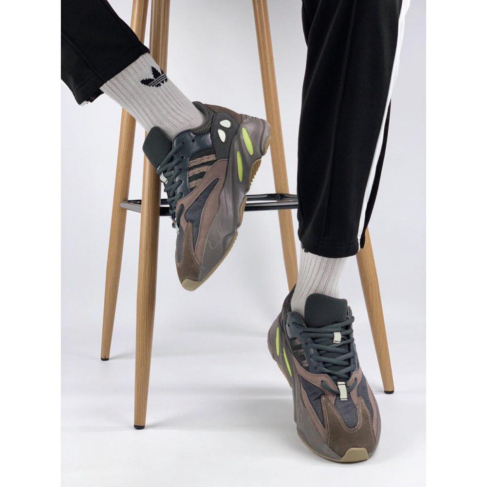Демисезонные кроссовки мужские   - Мужские серые кроссовки Adidas Yeezy 700 Mauve 4