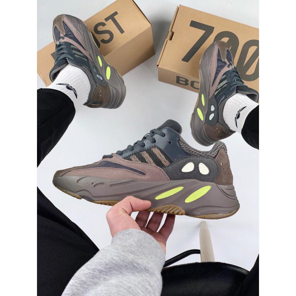 Демисезонные кроссовки мужские   - Мужские серые кроссовки Adidas Yeezy 700 Mauve 7
